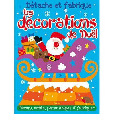 Détache et fabrique tes décorations de Noël