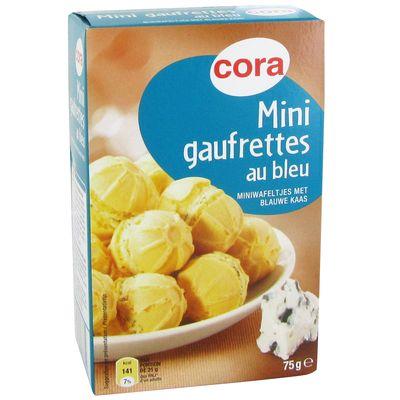 Cora Gaufrettes au bleu