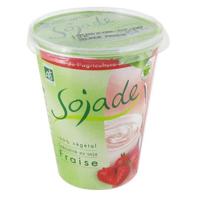 Spécialité Bio au soja fraise