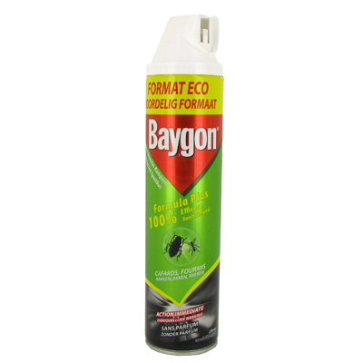 baygon insecticide contre les cafards et fourmis 600ml. Black Bedroom Furniture Sets. Home Design Ideas