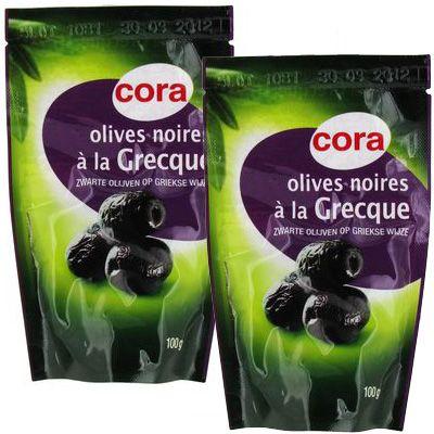 Cora Olives noires à la Grecque