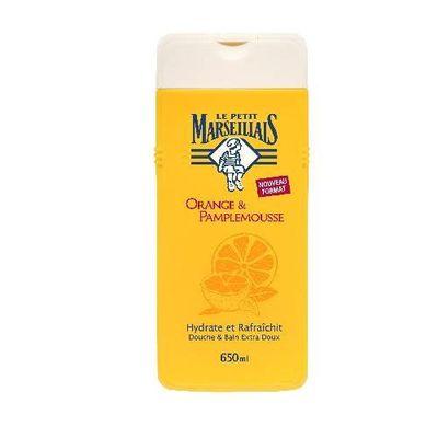Douche et bain Orange pamplemousse 650 ml