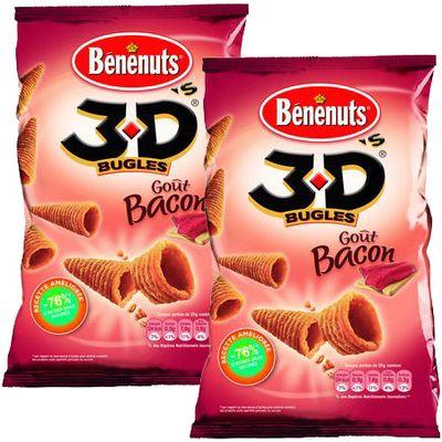 Benenuts 3 D'S Bacon