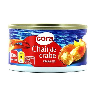 Chair de crabe 100% morceaux