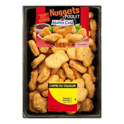 Nuggets de poulet MAITRE COQ, 1kg