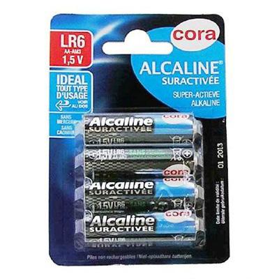 Piles alcalines LR6 1,5v