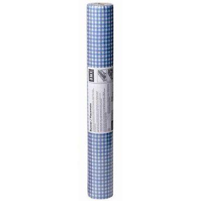 Chemin de table papier airlaid Vichy bleu,VICHY,40x