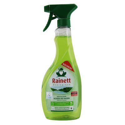 Nettoyant anti calcaire parfum raisin RAINETT, 500ml