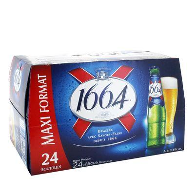 Biere blonde 1664 24x25cl