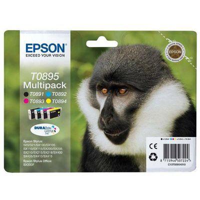 Epson Cartouches d'encre multi pack- T0895
