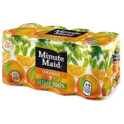 100% Pur Jus d'Oranges Pressees Avec Pulpe