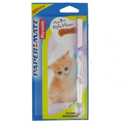 stylo plume chat
