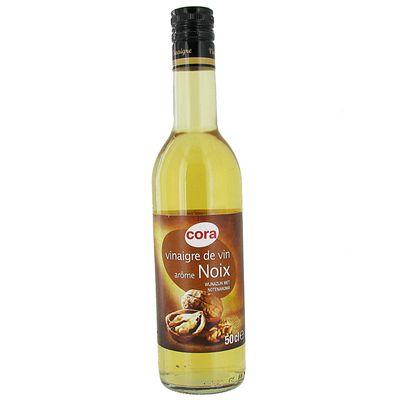 Cora vinaigre de vin arome noix 50cl