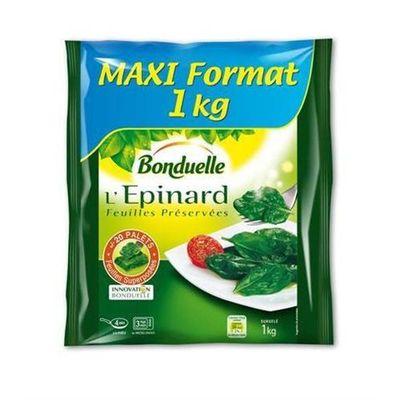 Epinards Bonduelle Feuilles preservees 1kg
