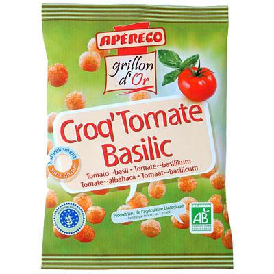 Grillon Or Croq' tomate basilic, bio