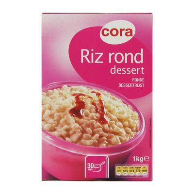 Riz rond pour dessert ,CORA,1kg