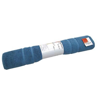 Influx tapis de bain colabel bleu canard for Tapis de cuisine bleu canard