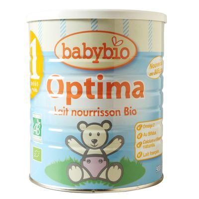 Babybio 1 optima 0 a 6 mois