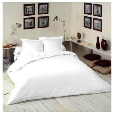 influx drap housse colabel blanc 140x190 cm. Black Bedroom Furniture Sets. Home Design Ideas