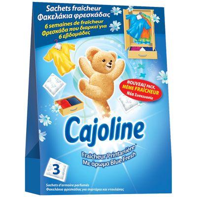 Sachets parfum fraîcheur printanière ,CAJOLINE,30g