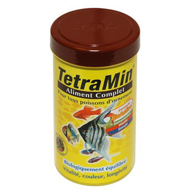 TetraMin, aliment complet pour poissons tropicaux