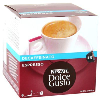 nescafe dolce gusto espresso d caf in 16 dosettes. Black Bedroom Furniture Sets. Home Design Ideas