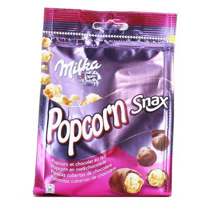 Milka, Popcorn Snack chocolat au lait, le paquet de 130g