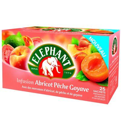 Infusion abricot-peche-goyave x25