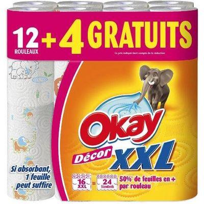 Essuie-tout Okay Decor XXL x12