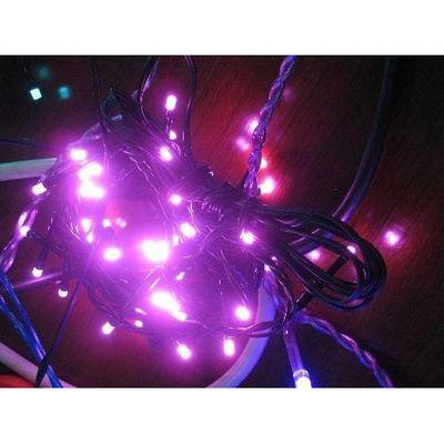 Cora guirlande lectrique ext rieure rose 120 led - Guirlande electrique exterieure ...