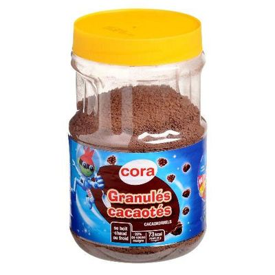 Granulés cacaotés ,CORA,800g