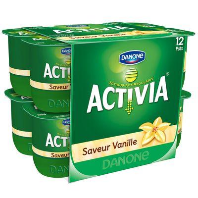 Activia Vanille Danone 12x125g