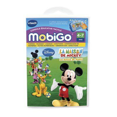 Jeu mobigo- La maison de Mickey