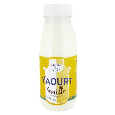 Yaourt à boire vanille