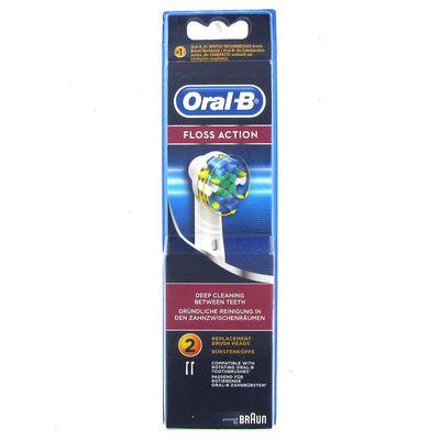 Tetes de brosses a dents rotative, recharge, Floss Action