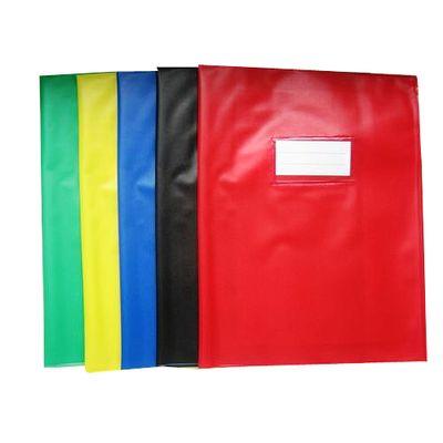 Cora Protège-cahiers 24 x 32 cm opaque couleurs assorties