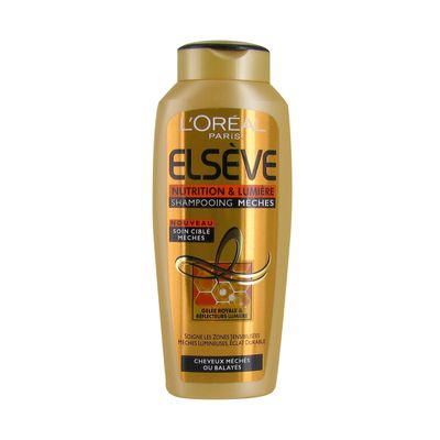 Elseve Shampooing nutrition lumiere shampooing meches 250ml