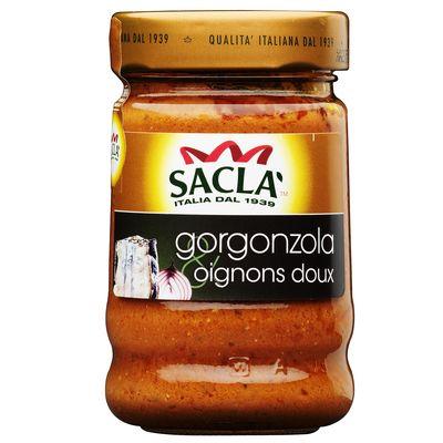 Sacla, Sauce Gorgonzola & Oignons doux, le pot de 190g
