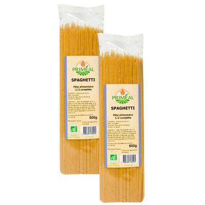 Priméal Spaghetti 1/2 complet, bio