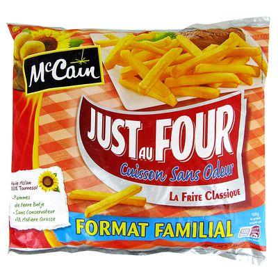 Frites Just au four MC CAIN, 1,5kg