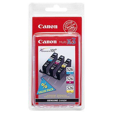 Canon Cartouches d'encre couleurs- BCLI526