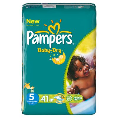 Pampers baby dry geant T5 x41