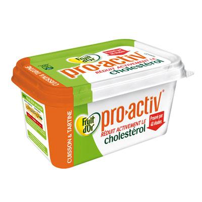 Margarine allegee a cuisiner ProActiv FRUIT D'OR, 62%MG, 500g