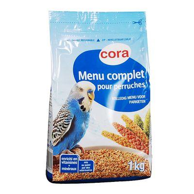 Cora Menu complet pour perruches 1kg