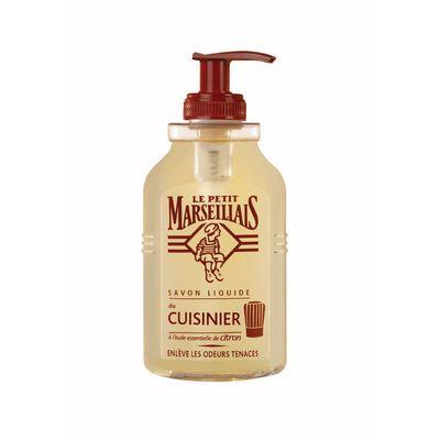 Le petit marseillais savon liquide petit cuisinier l 39 huile essentielle - Le chaudron marseillais savon ...