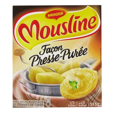 Puree facon presse-puree MOUSLINE, 3x125g