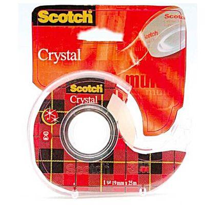 Scotch Dévidoir avec ruban adhésif crystal transparent