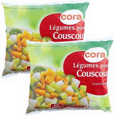 cora l gumes pour couscous lot de 2 sachets de 1kg. Black Bedroom Furniture Sets. Home Design Ideas