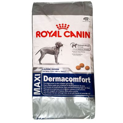 royal canin croquettes pour chien maxi dermacomfort 12kg. Black Bedroom Furniture Sets. Home Design Ideas