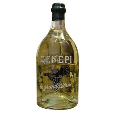 Bigallet gnpi grand tetra srigraphi 70cl for Cocktail genepi